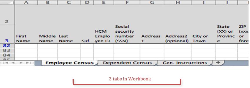 Workbook Structure